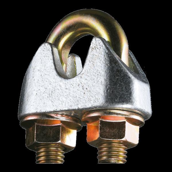 Drahtseilklemmen DIN EN 13411-5 - galv. verzinkt