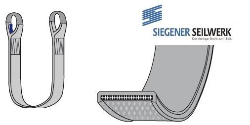SecuLine Hebebänder mit 1-seitiger PU-Beschichtung S1