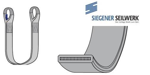 SecuLine Hebebänder mit 2-seitiger PU-Beschichtung S2