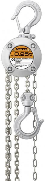 KITO CX Handkettenzug aus Aluminium