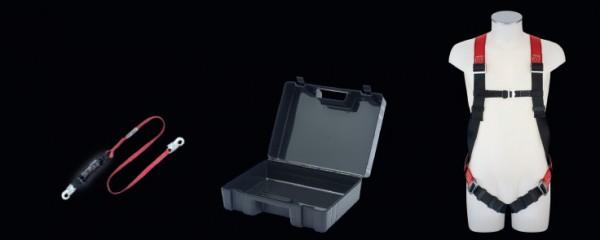 PSA Sicherheitsset mit Auffanggurt MAS 5 und Bandfalldämpfer