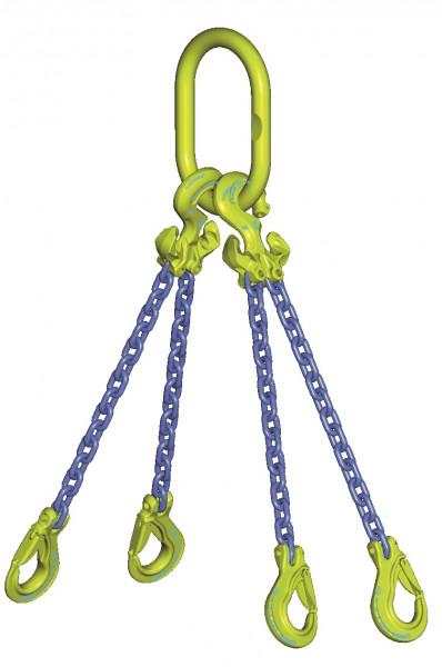 GrabiQ-4-Strang-Anschlagketten - Güteklasse 10